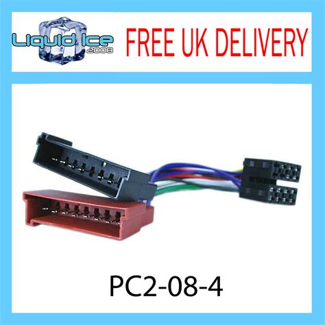 Universal Unit Wiring Harnes by Pc2 08 4 Ford Focus 1998 2004 Iso Stereo Harness