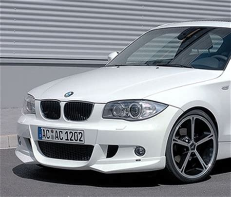 front spoiler for bmw 1 series e87 e81 m sport