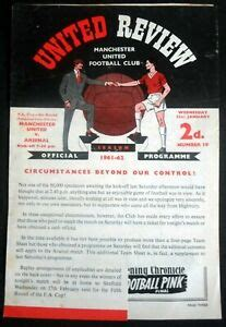 Manchester United v Arsenal FA Cup 4th Round Rearranged 31 ...