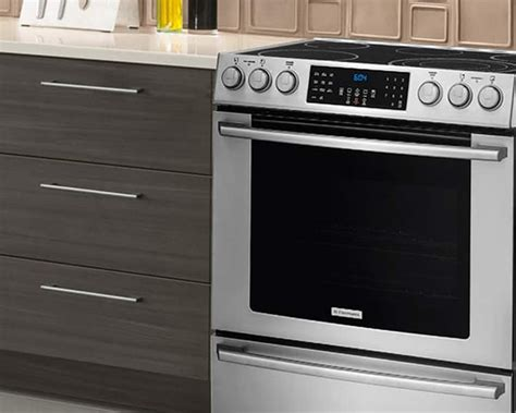 drop in electric ranges reviews kitchen range electric compare electrolux induction dual