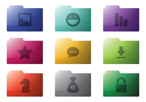 Folder Icon Free Vector Art