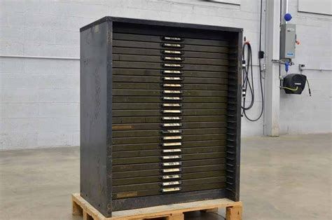 Printers Type Cabinet by Economy Printers Type Cabinet Boggs Equipment