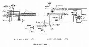 Dixon Ztr 560  1993  Parts Diagram For Wiring Assembly