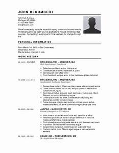 resume sample format learnhowtoloseweightnet With hloom resume templates
