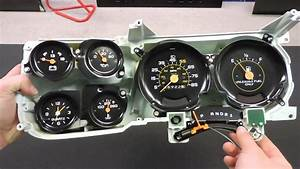 1979 83 Chevy Truck Dash Shift Indicator 3 Speed