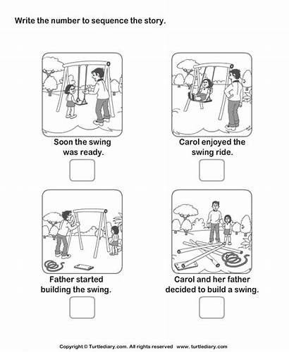 Sequencing Sequence Worksheets Story Worksheet Grade Swing