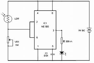 automatic street light using 555 timer circuit With xr2240 timer circuit project