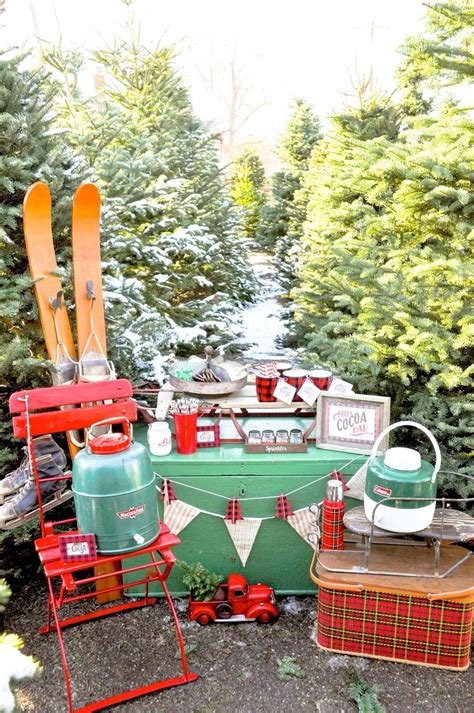 christmas tree lot ideas kara s ideas cocoa bar with free printables kara s ideas