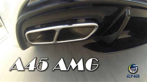 Exhaust Music - Mercedes-AMG A45 4MATIC - YouTube