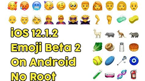 How To Install Ios 12.1.2 Emoji Beta 2 On Android No Root