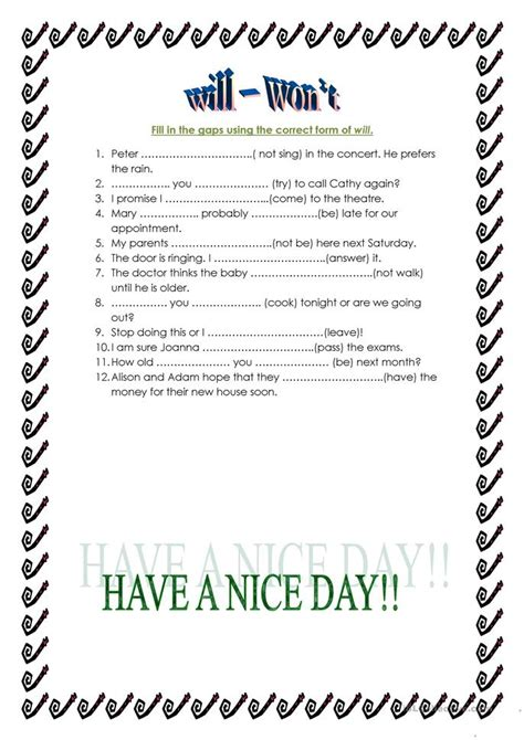 worksheet followhyperlink does not work will won t worksheet free esl printable worksheets