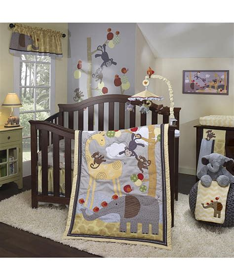 lambs and ivy l lambs and ivy butterscotch crib bedding collection baby