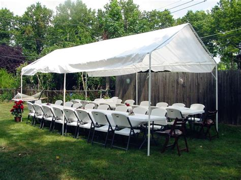 quictent    heavy duty white carportcanopyparty tentcar shelter
