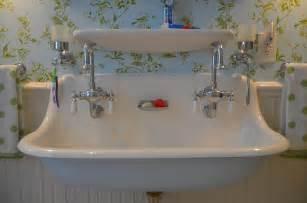 Kohler Brockway Sink Double by Bathroom Trough Sink Double Faucet