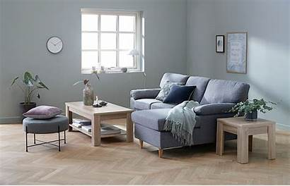 Jysk Furniture Coffee Oak Sofa Designer Longue