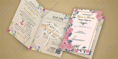 jasa desain undangan pernikahan loka desain jasa