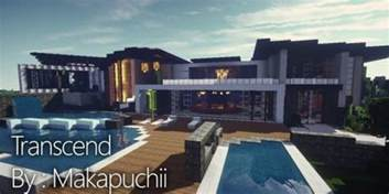 trascend modern house minecraft house design
