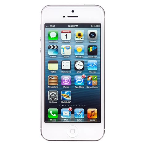 Apple iPhone 5 GSM A1428 16GB - Specs and Price - Phonegg