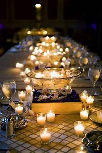 Memorable Wedding: wedding reception candle centerpieces
