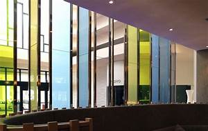 """Colored Architectural Glass """"Jelly Bean Chartreuse""""   Bendheim"""