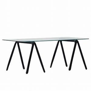 table trestle made of steel by zieta With tisch schwarz