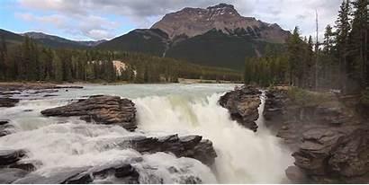 Gifs Cachoeira Canada Waterfall Alberta Cascada Giphy