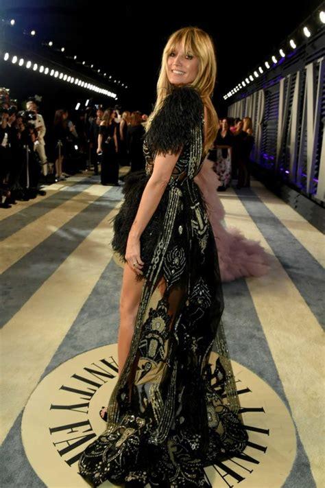 Heidi Klum Attends Vanity Fair Oscar Party Beverly