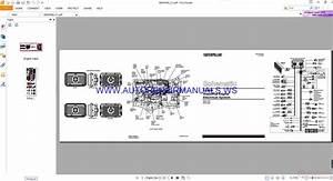 Caterpillar 3126b Industrial Engine Electrical Schematics