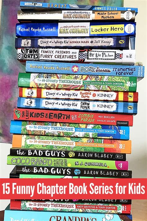 funny chapter book series  kids ages   years