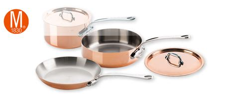 mauviel copper cookware  shipping  french copper