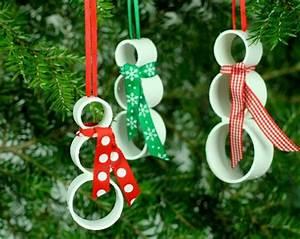Reciclagem no Meio Ambiente 6 Enfeites de Natal de Tubos