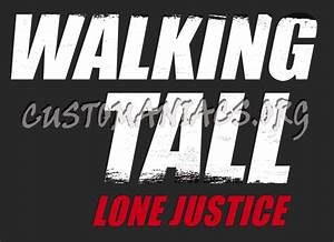 Walking Tall: Lone Justice - DVD Covers & Labels by ...