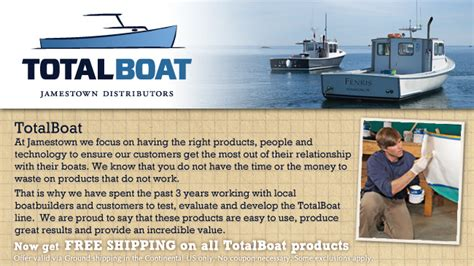 Jamestown Boat Supplies by Totalboat By Jamestown Distributors