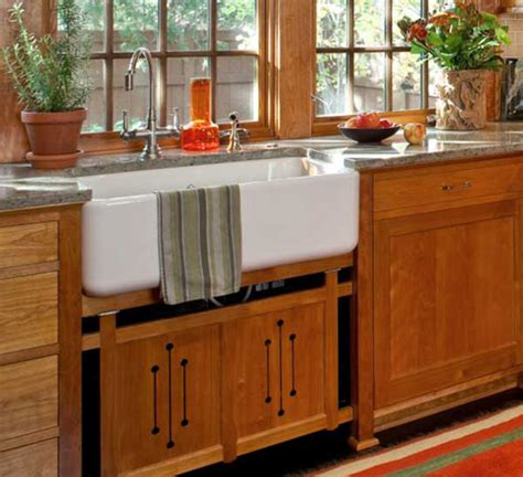 Craftsman Kitchen Cabinets — Arts & Crafts Homes And The
