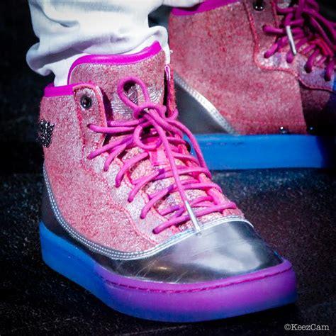 Your Best Look Yet At Nicki Minajs Air Jordans Sole