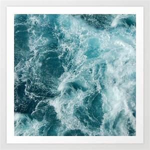Sea Art Print by vivinicolin