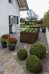 Kiesflächen Im Garten : galerie heggli gartenbau merenschwand ~ Markanthonyermac.com Haus und Dekorationen