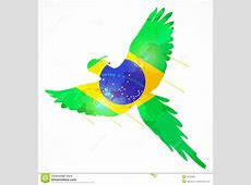 Brazil macaw flag stock photo Image of brasil, brazilian