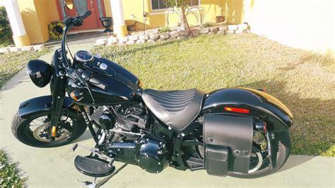 2016 Harley-davidson Softail Slim S Motorcycle Solo Bag