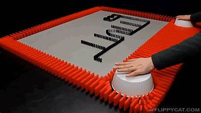 Dominoes Sketch Etch Stop Motion Even Harder