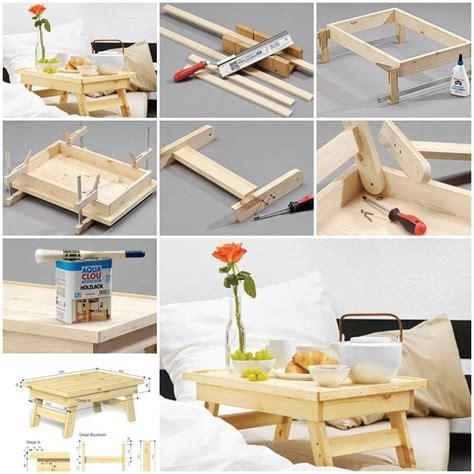 diy simple bed tray