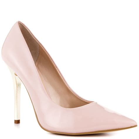 light pink shoes new guess light pink neodan stiletto patent pumps shoes