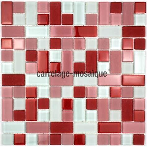 carrelage mosaique cuisine cubic mosaique de verre carrelage mosaique