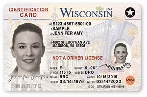 image gallery wisconsin id With wisconsin drivers license template