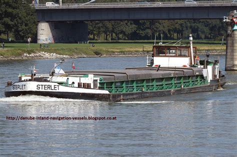 danube river inland water cargo vessels sterlet