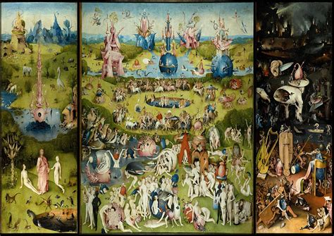 the garden of earthly delights bosch hieronymus the garden of earthly delights