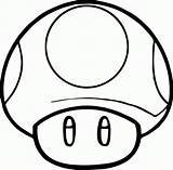 Mario Coloring Super Pages Toad Mushroom Popular sketch template