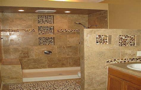 mosaic bathroom tile ideas mosaic pebble bathroom floor tiles how to install