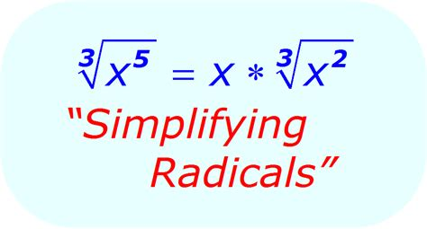 simplifying radicals adding and subtracting radicals