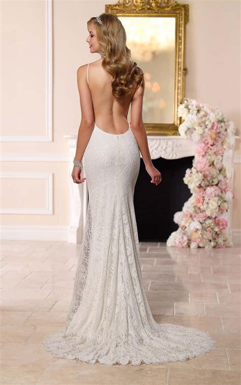 Dramatic Low Back Wedding Dress Stella York Wedding Dresses